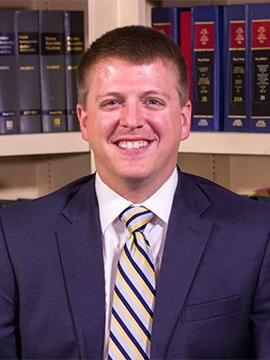 Photo of Brendan Barth, Florence, SC attorney.